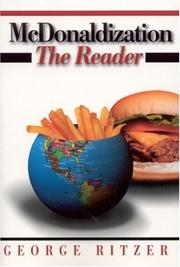 Cover of: McDonaldization: The Reader