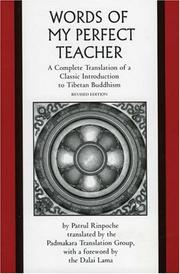 Cover of: The Words of My Perfect Teacher | Patrul Rinpoche