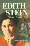 Cover of: Edith Stein | Freda Mary Oben