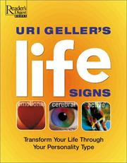 Cover of: Uri Geller's Life Signs