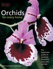 Cover of: Orchids for every home