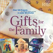 Cover of: Gifts for the Family | Reader's Digest