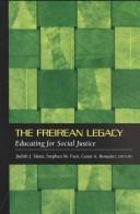 Cover of: The Freirean Legacy |