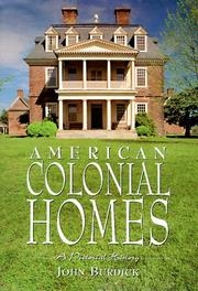 Cover of: American Colonial Homes