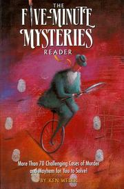 Cover of: Five Minute Mysteries Reader