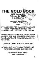 Cover of: Gold Book