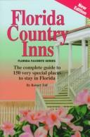 Cover of: Florida Country Inns | Robert Tolf