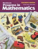 Cover of: Progress in Mathematics | Rose A. McDonnell