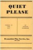 Cover of: Quiet, Please. | Howard Buermann