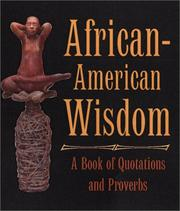 Cover of: African American Wisdom | Quinn Eli