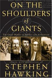 Cover of: On the Shoulders of Giants | Stephen Hawking