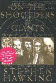 Cover of: On the Shoulders of Giants