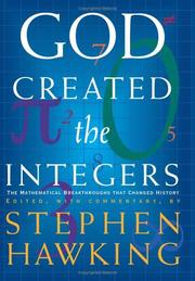 Cover of: God Created the Integers | Stephen Hawking