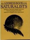 Cover of: An Address Book for Naturalists |