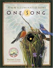 Cover of: One song