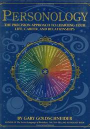 Cover of: Personology: The Precision Approach to Charting Your Life, Career, and Relationships