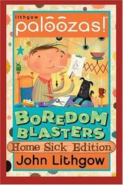 Cover of: Paloozas! Boredom Blasters: Home Sick (Paloozas)