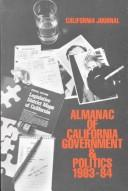 Cover of: Almanac of State Government & Politics | Thomas R. Hoeber
