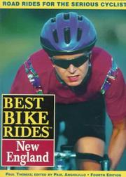 Cover of: The best bike rides in New England | Paul D. Thomas