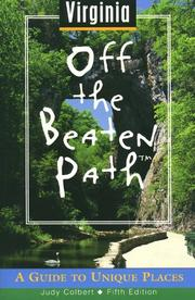 Cover of: Virginia Off the Beaten Path | Judy Colbert