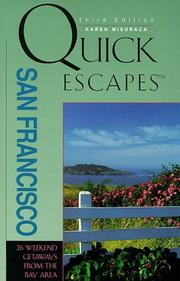 Quick escapes San Francisco by Karen Misuraca