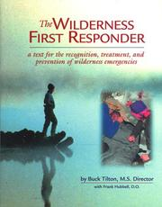 Cover of: Wilderness first responder