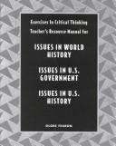Cover of: Issues in World History/Issues in U.S. Government/Issues in U.S. History