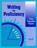 Cover of: Writing for Proficiency |