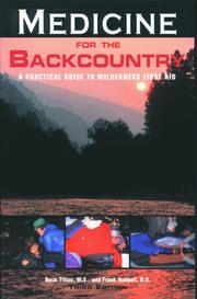 Cover of: Medicine for the Backcountry, 3rd