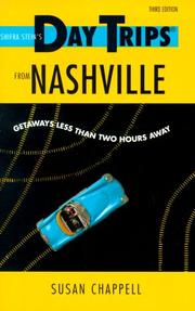 Cover of: Day Trips from Nashville | Susan Chappell