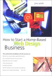 Cover of: How to start a home-based web design business