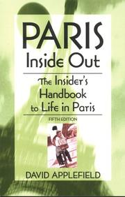 Paris Inside Out by David Applefield