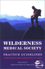 Cover of: Wilderness Medical Society Practice Guidelines, 2nd | Wilderness Medical Society.