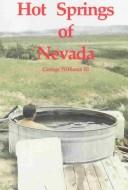Cover of: Hot Springs of Nevada | George Williams