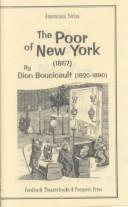 Cover of: The poor of New York