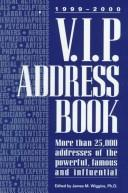 Cover of: 1999-2000 V.I.P. Address Book