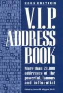 Cover of: V.I.P. Address Book 2003 (VIP Address Book)