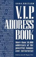 Cover of: V.I.P. Address Book 2004 (VIP Address Book)