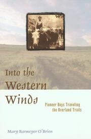 Into the Western Winds by Mary Barmeyer O'Brien