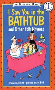 Cover of: I Saw You in the Bathtub | Alvin Schwartz