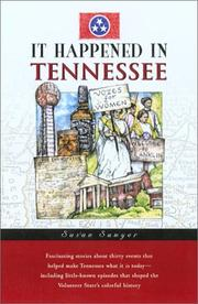 Cover of: It happened in Tennessee