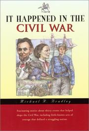 Cover of: It happened in the Civil War