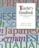 Cover of: Teachers handbook