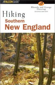 Cover of: Hiking southern New England