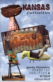 Cover of: Kansas curiosities | Pam Grout