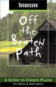 Cover of: Tennessee Off the Beaten Path, 6th