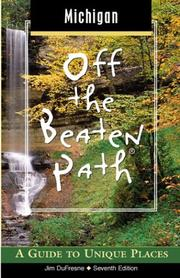Cover of: Michigan Off the Beaten Path, 7th