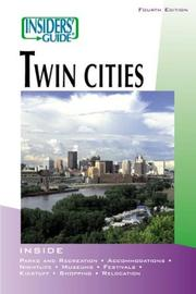 Cover of: Insiders' Guide to the Twin Cities, 4th