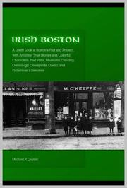Cover of: Irish Boston