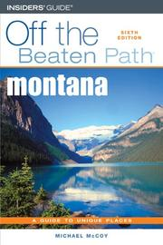 Cover of: Montana Off the Beaten Path, 6th | Michael McCoy